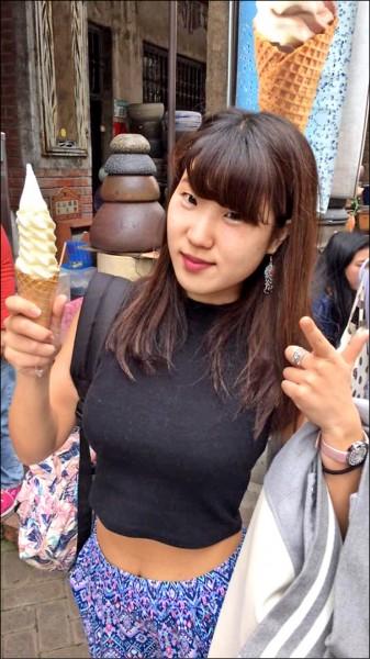 東京上智大學三年級女大生椿原世梨奈。(取自Park Lee臉書)