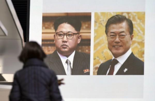 南北韓雙方高層今天敲定,將於4月27日在板門店南韓轄區「和平之家」舉行南北韓高峰會。(美聯社)