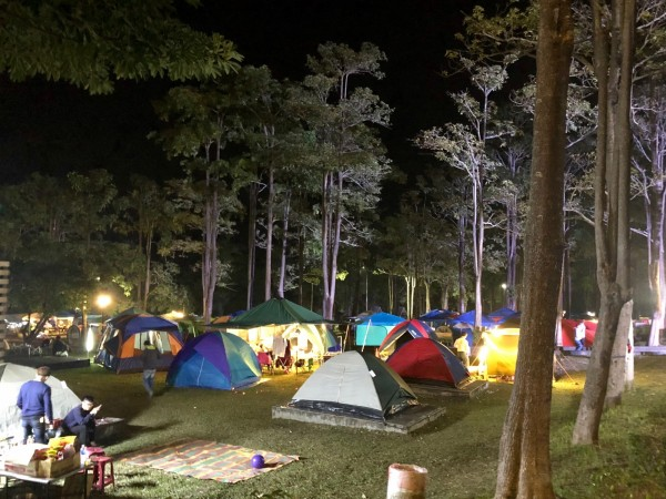 露營活動近年盛行。示意圖,與新聞無關。(圖由走馬瀨農場提供)