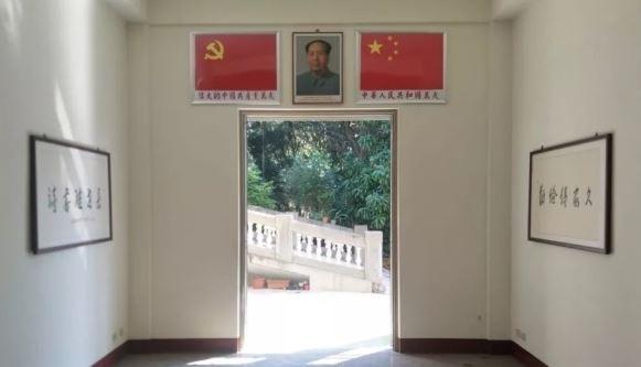 彰化二水出現一座「毛主席廟」,還在中國網路上公開募集物資,要設立「毛主席全身雕像」。(翻攝自萬維讀者)