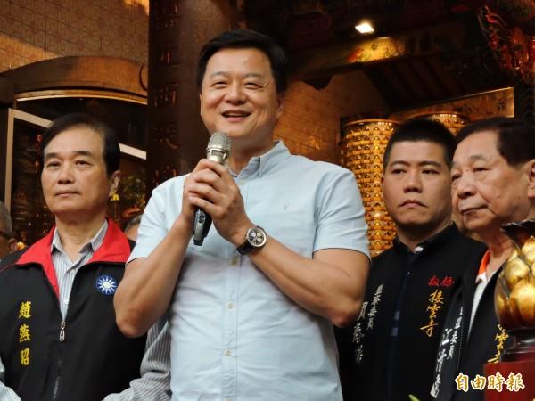 國民黨新北市長初選民調結果未公布前,周錫瑋已承認自己輸給侯友宜。(資料照)