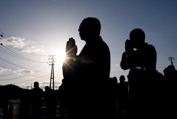 日本僧侶也因工時過長過勞導致罹患憂鬱症。示意圖。(歐新社)