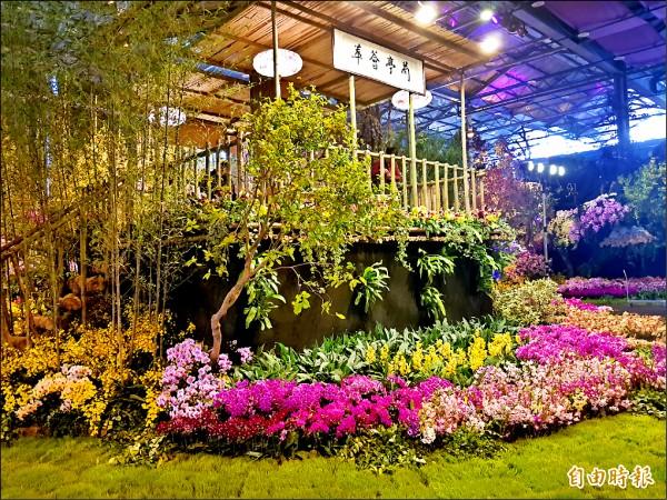 台灣國際蘭展今年在觀展國別與長期外銷訂單上,均創下歷屆最高。(記者劉婉君攝)