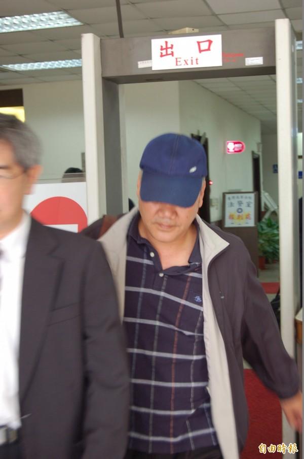 郭姓女模的父親從台東趕上來出庭,怒批朱家龍等人案發至今沒有打過一通電話道歉,「太可惡了」!(記者楊國文攝)