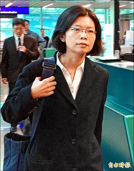 李凈瑜日前首度獲得探監許可,前往中國湖南省益陽市赤山監獄探視李明哲。(資料照)