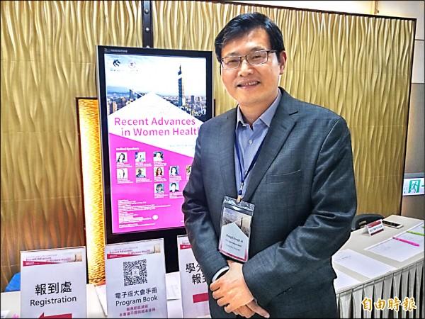 雙和醫院副院長賴鴻政賴鴻政說,新的分子篩檢預計在兩年後正式投入使用。(記者吳亮儀攝)