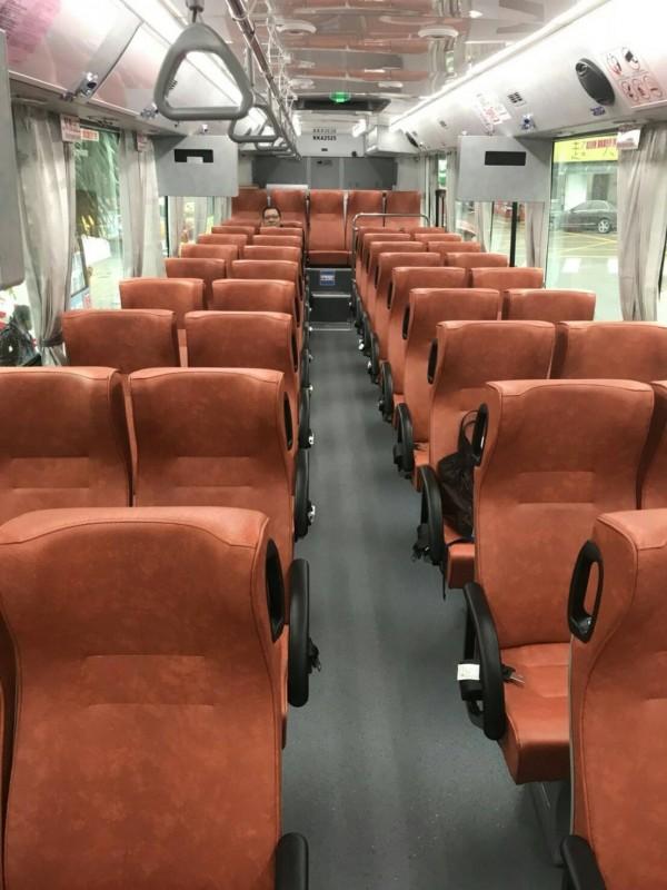 台北客運開通新北市瑞芳地區往返台北市松山火車站、內湖科學園區的跳蛙公車,將於16日正式上路。(市議員林裔綺提供)