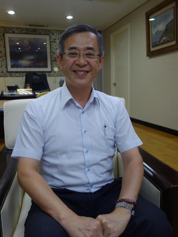 教育部政務次長姚立德傳已請辭待命。(記者吳柏軒攝)