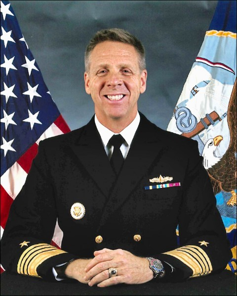 戴維森獲提名出任美軍太平洋司令。(取自美國海軍官方網站)