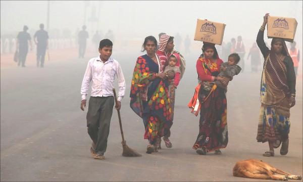 去年有610萬人因空污導致的中風、心臟病、肺癌和慢性肺病等疾病而早死,其中中國和印度佔超過一半。(取自網路)