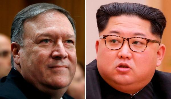 川普今天(18日)在推特上證實,CIA局長龐培歐(Mike Pompeo)已在上週先行到北韓與金正恩見面。(美聯社)