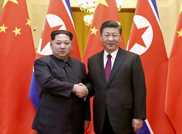 上月北韓最高領導人金正恩閃電訪中,據傳習近平也將在近期內首度造訪北韓。(美聯社)