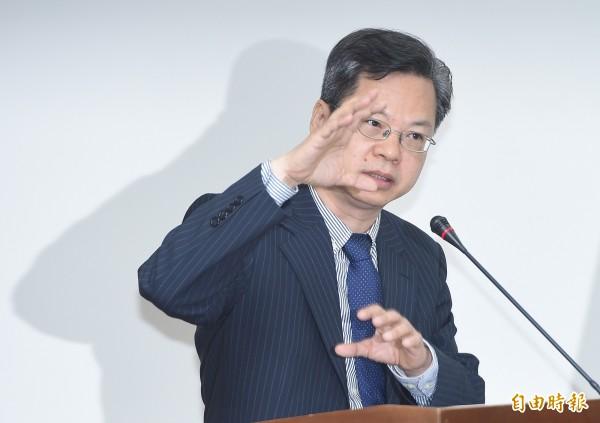 經濟部次長龔明鑫。(資料照)