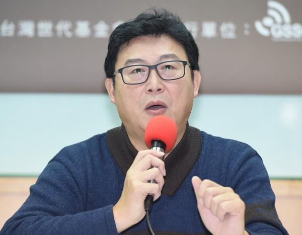 民進黨立委姚文智18日在政論節目中表示,如果他代表民進黨出戰台北市僅得到第三名,就要永遠退出政壇。(資料照)