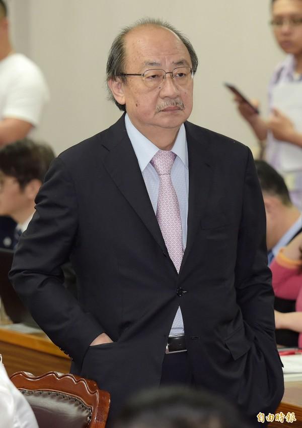 立法院民進黨團總召柯建銘表示,黃煌雄是最民主前輩,只用一件事來質疑他,有失公允。(資料照)