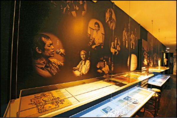 「臺灣音樂館」常態性開放,館內的展覽與資料可讓人認識台灣音樂的歷史。(記者沈昱嘉/攝影)