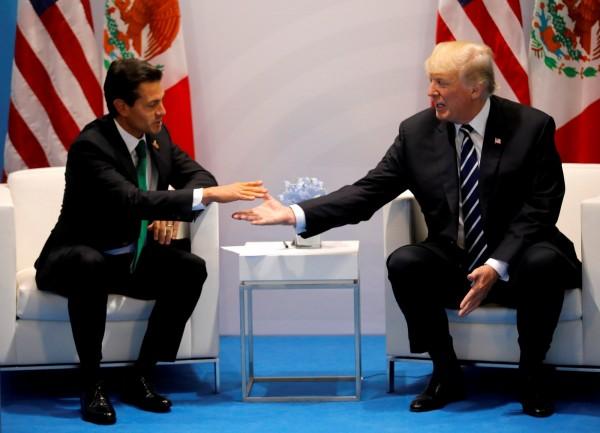 墨西哥的經濟相當依賴與美國間的北美自由貿易區協定,去年美國威脅要退出北美自由貿易區後,墨西哥也開始轉向歐盟。(路透)