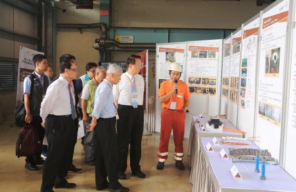 台灣高鐵去年舉辦台灣軌道工業本土化商機說明會,讓業者了解未來10年維修物料需求。(台灣高鐵公司提供)