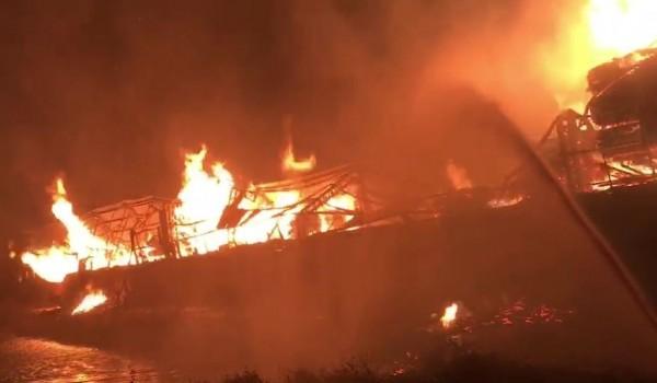 中國廣東清遠市KTV大火18死5傷。(示意圖)