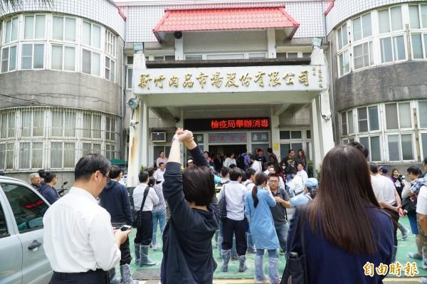 新竹縣政府已編列3000萬元預算,預定7月動工新建辦公大樓,未來朝觀光工廠方向經營。(記者廖雪茹攝)