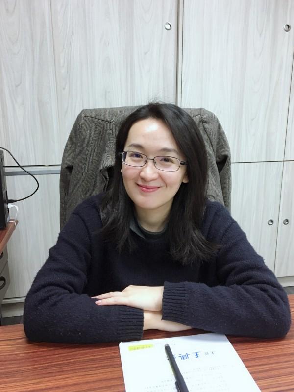 新任青年事務局長顏蔚慈。(顏蔚慈提供)
