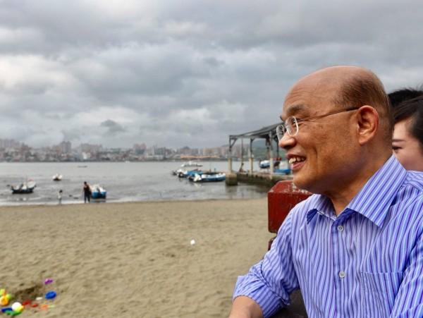 昨天,蘇貞昌被民進黨提名角逐2018新北市長。(圖擷取自蘇貞昌臉書)