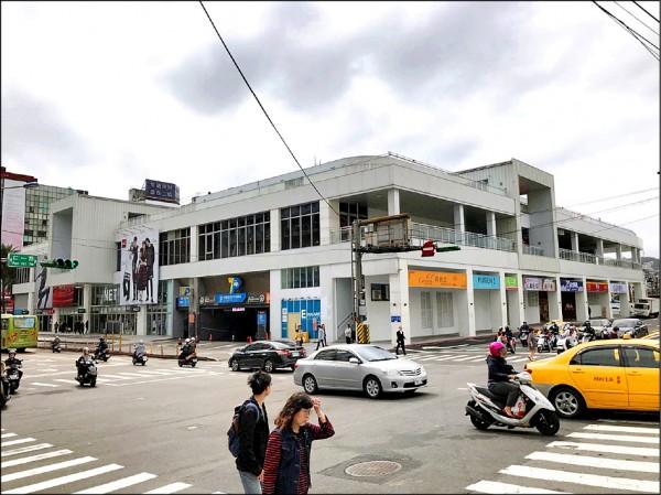 基隆東岸商場。(記者林欣漢翻攝)