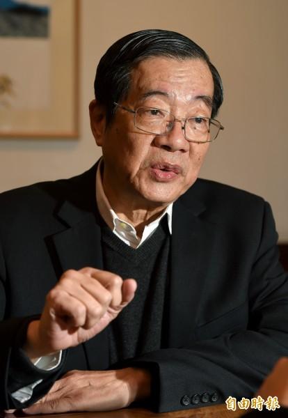 前教育部長黃榮村。(本報資料照)