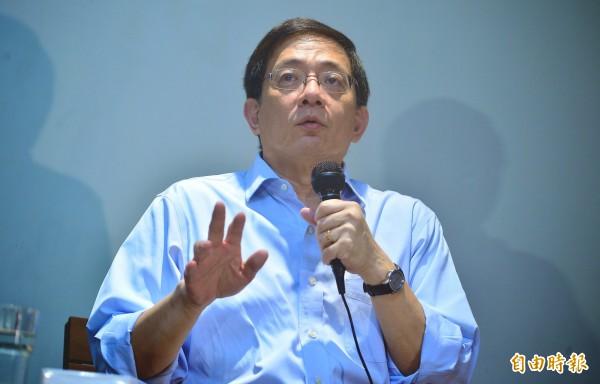 台大校長當選人管中閔。(資料照,記者王藝菘攝)