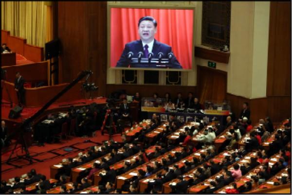 按照習近平三月下旬在中國全國人大會議閉幕談話的最新調性,儘管他提高了對「分裂國家」的嚴厲與強硬,但是推進和平統一進程,仍然是其強調的國家戰略目標。(美聯社檔案照)