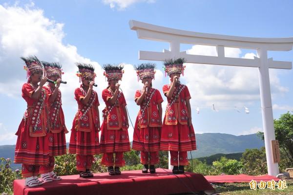 落山風景區包含車城、牡丹、滿州等部落美景。(記者蔡宗憲攝)