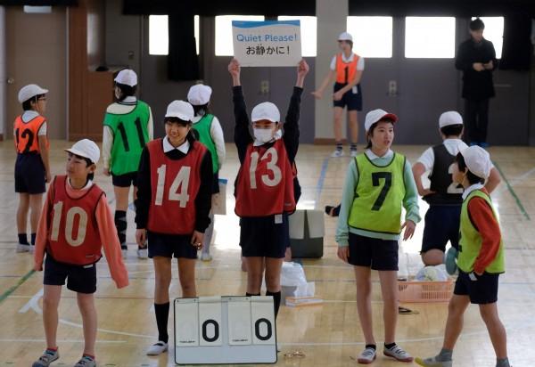 日本兒童節到來前夕,日本政府公布截至今年4月1日所統計的15歲以下兒童數量。(法新社)