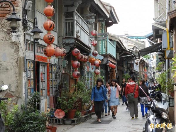 「台南雙城觀光地區」是全國第1個法定公告的觀光地區,市府制定公告經營管理計劃永續發展。(記者洪瑞琴攝)
