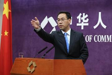 中國商務部發言人高峰。(圖擷取自中國商務部官網)