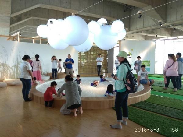今年的宜蘭綠色博覽會在冬山河生態綠舟舉行。(讀者提供)