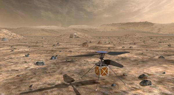 NASA預計在2020年將直升機送上火星。(圖擷自《NASA》)