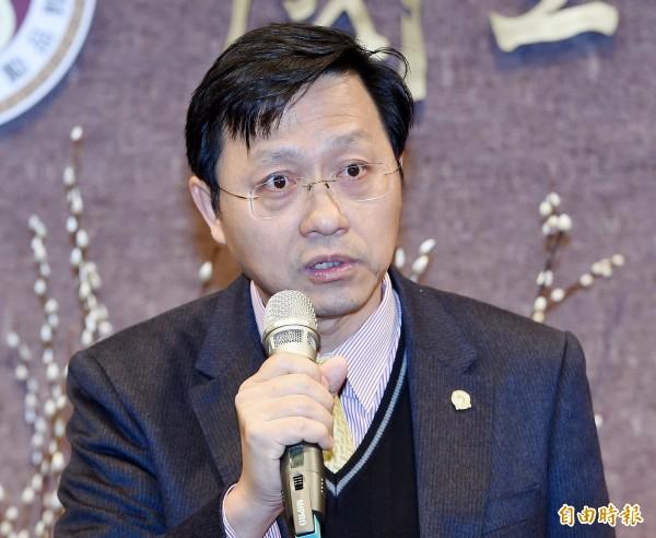 台大代理校長郭大維。(資料照)