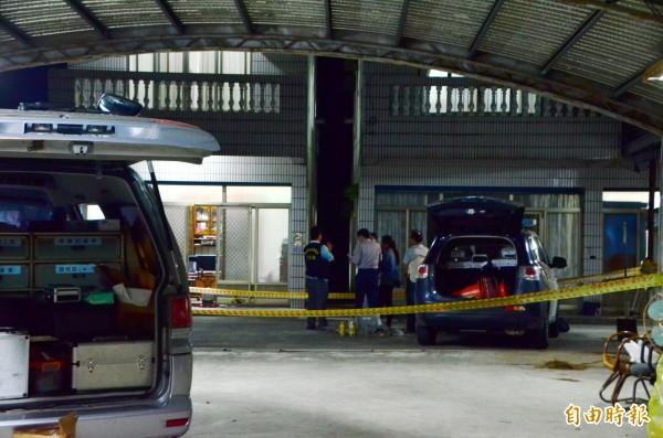 台南南化北寮里發生2戶3屍命案,最後竟是外孫下毒手狠殺外婆等至親。(記者吳俊鋒攝)