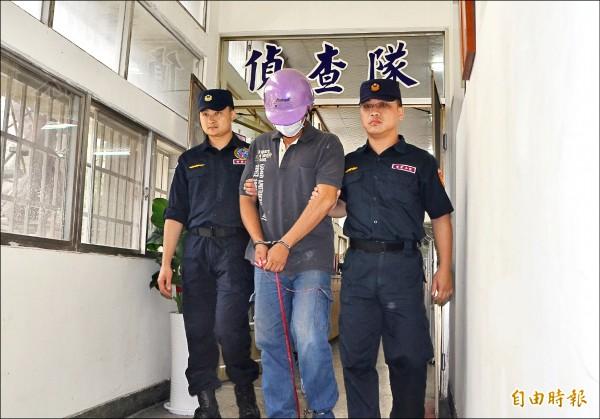 台南市南化區10日發生3死劫財血案,郭濬毅坦承犯案。(記者吳俊鋒攝)