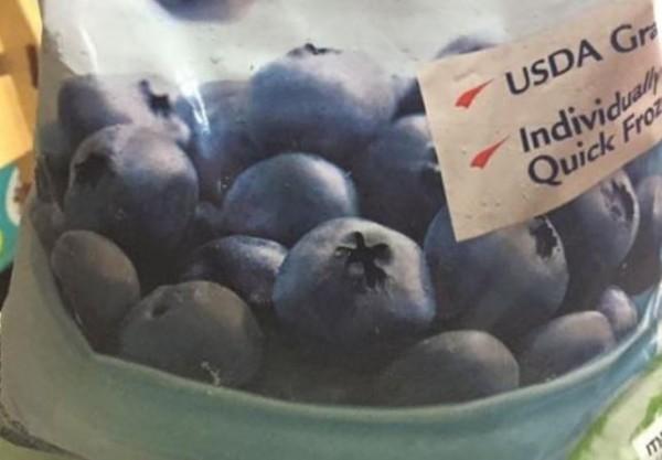 好市多進口冷凍藍莓示意圖,非本次遭驗出殘留農藥超標產品。(擷取自臉書社團Costco好市多 商品經驗老實說)