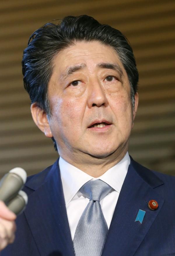 日本首相安倍晉三日前出席日本、南韓企業高層與會的「日韓經濟人會議」。圖為資料照。(法新社)