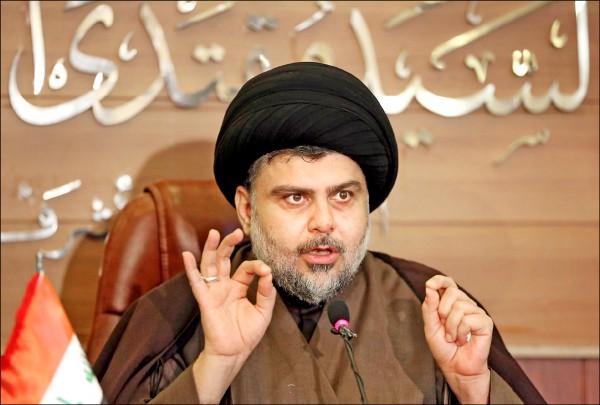 伊拉克國會大選十九日公布結果,什葉派教士薩德扳倒現任總理阿巴迪,成為國會最多席次的聯盟。(美聯社檔案照)