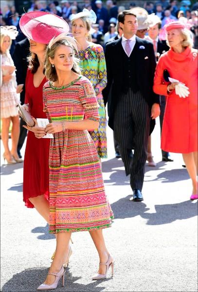 哈利王子前女友波納斯(Cressida Bonas)。(法新社)