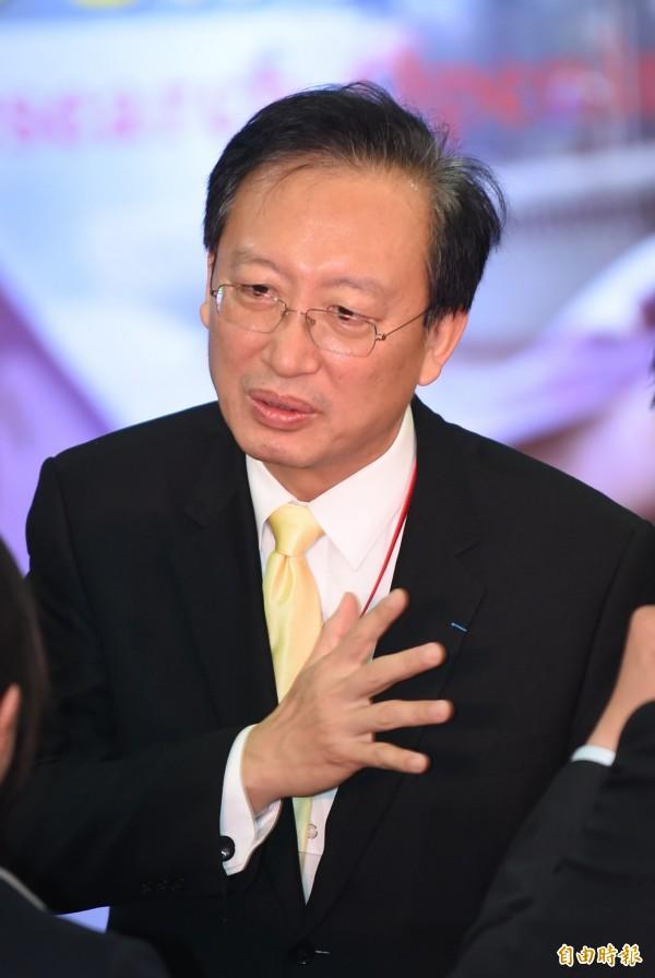 外交部次長吳志中。(資料照,記者劉信德攝)
