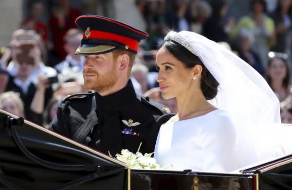 梅根剛與哈利王子完婚,她的姪子杜利就闖禍,可說是「豬隊友」。(美聯社)
