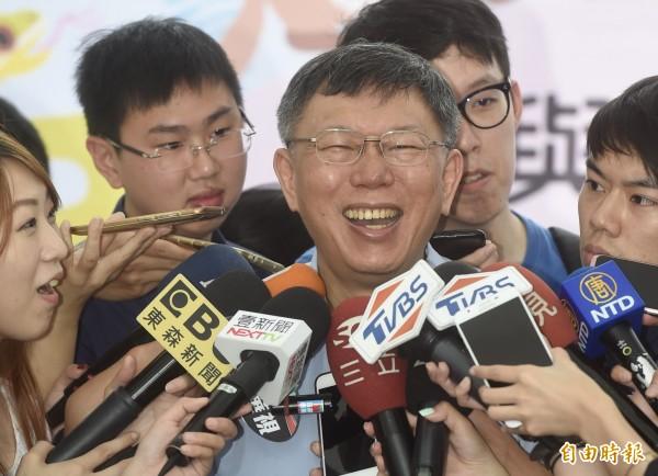 民進黨選對會日前決議不禮讓台北市長柯文哲。(資料照)