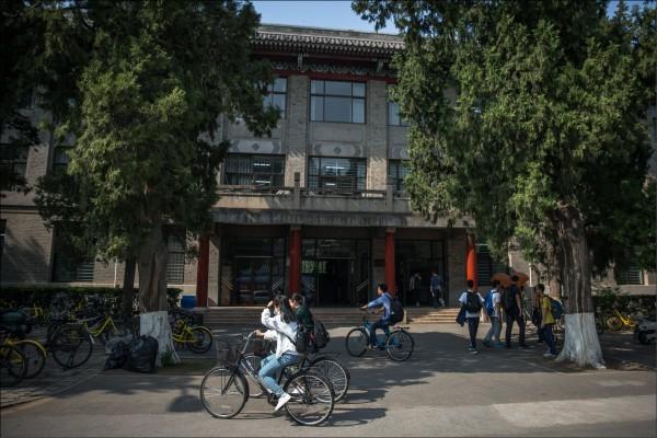 中共監控大學言論自由。(歐新社)