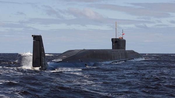 俄國核潛艦今日在白海成功發射4枚洲際飛彈,擊中位於遠東勘察加半島軍事演習場內的目標。(路透)