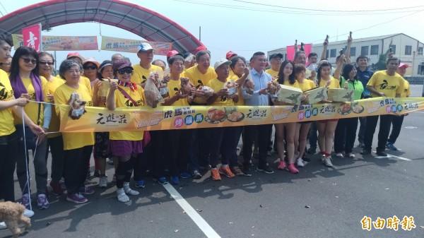 虎馬全國馬拉松改名「烤雞馬」,歡迎全國跑友共襄盛舉。(記者廖淑玲攝)