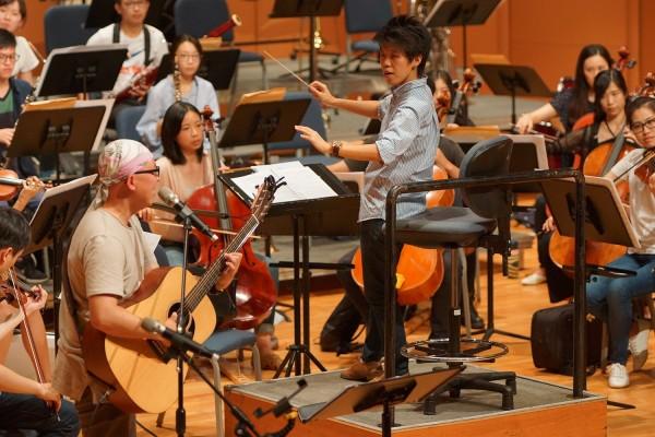 歌手林助家(左)將與國家交響樂團青年樂團於總統府音樂會合作演出。(衛武營國家藝術文化中心提供)